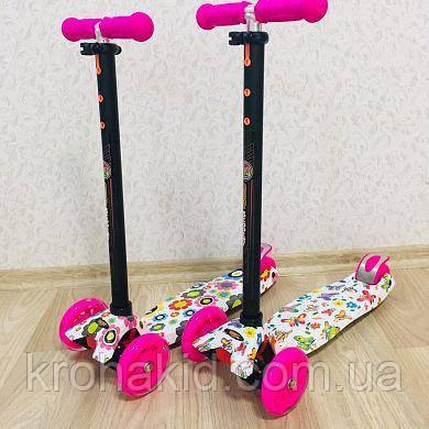 СамокатА 24660/779-1309MAXI Best Scooter(Цветочки)     СамокатА 24652/779-1396 MAXI Best Scooter (Бабочки)