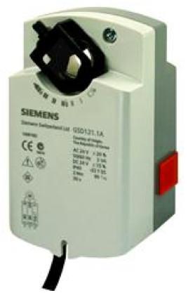 Siemens GSD121.1A, 2 Nm, без возвр.пружины, 2pt, 24 В AC/DC