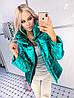 Куртка женская яркая на синтепоне в разных цветах (мод. 021)