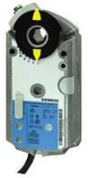 Siemens GAP196.1E, 6 Nm, без возвр.пружины, 0(2)...10 В DC, 0(4)...20 мА, 24 В AC/DC, 2 доп.контакта