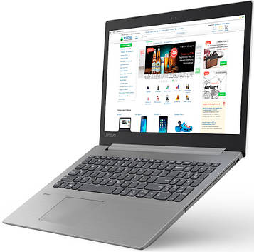 Ноутбук Lenovo IdeaPad 330-15IGM (81D100H8RA) Platinum Grey Суперцена!!!