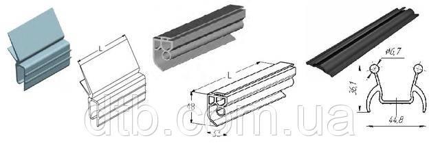 Резиновые уплотнения для ворот секционных