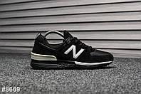 Мужские кроссовки 574 Sport Edition Black, Реплика, фото 1