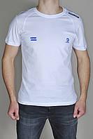 Мужская футболка Adidas Porcshe Design 9466 белая