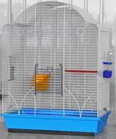 Клетка для попугаев Ария Люкс Цинк 47х28х63см