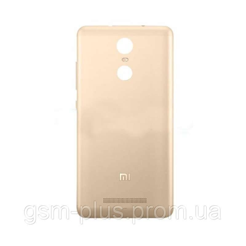 Задняя часть корпуса Xiaomi Redmi 3s Gold