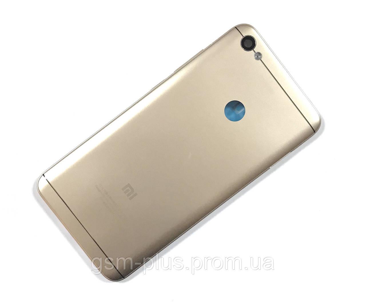 Задняя часть корпуса Xiaomi Redmi Note 5a Gold