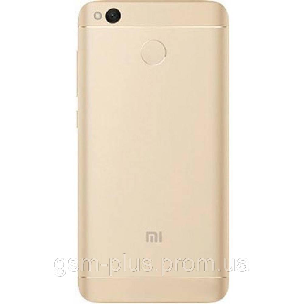 Задняя часть корпуса Xiaomi Redmi 4X Gold