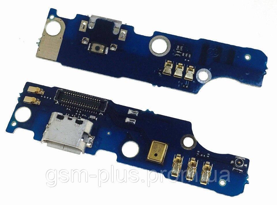 Разъем зарядки Meizu M2 Note Charge (с платкой)