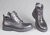 Женские ботинки на невысоком ходу