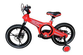 """Велосипед Hollicy 16"""" (красный). Вес 11 кг (94х19х45 см)"""