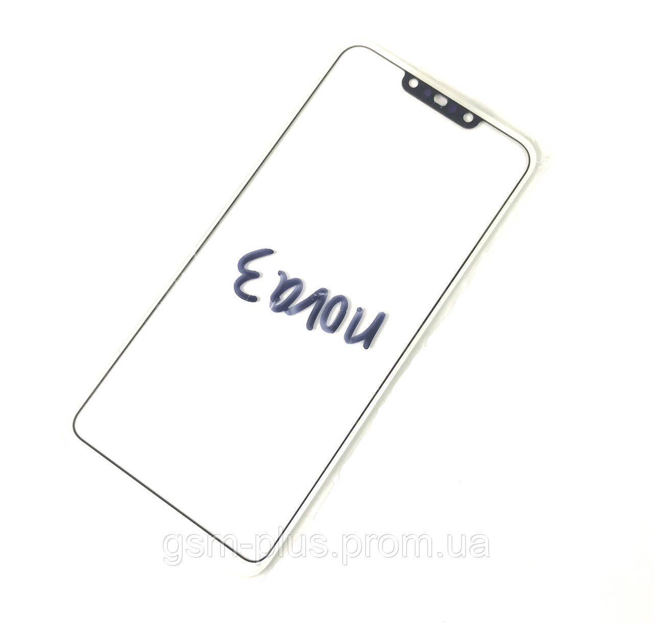 Стекло дисплея Huawei Nova 3 (PAR-LX1) White (для переклейки)