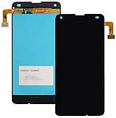 Дисплей Microsoft (Nokia) Lumia 550 complete with frame Black (RM-1127)