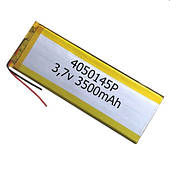 Аккумулятор универсальный 4050145P 5.0 cm х 14.5 cm 3.7v 3500 mAh