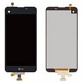 Дисплей LG K500n / K500DS / X Screen / X View complete Black