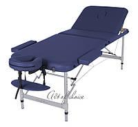 Складной массажный стол  LEO Comfort трехсекционный алюминиевый, Массажный стол LEO Comfort Art of Choice