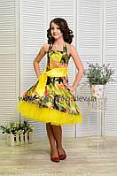 Нарядное платье для девочки Стиляги-013