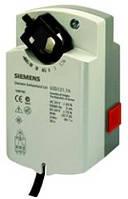 Siemens GSD126.1A, 2 Nm, без возвр.пружины, 2pt, 24 В AC/DC, 2 доп.контакта