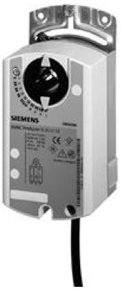 Siemens GLB132.1E, 10 Nm, без возвр. пружины, 3pt, 24 В AC,  потенциом.обратной связи