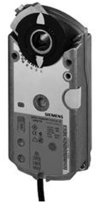 Siemens GEB336.1E, 15 Nm, без возвр. пружины, 3pt, 220 В AC, 2 доп.контакта