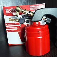 Лампа паяльная газовая для катриджа 190гр.С пьезо.