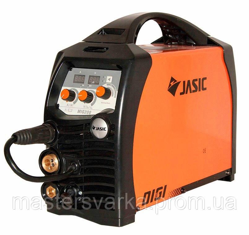 Сварочный полуавтомат Jasic MIG 200 (N229) DIGI SYNERGIC