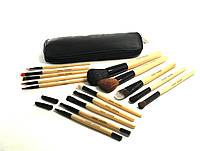 Набор кистей для макияжа  15 штук в кошельке, фото 1