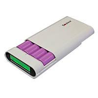 Внешнее портативное зарядное устройство Soshine e3 10400mAh Power Bank + 4 x Samsung 18650 аккумулятор