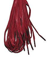 Шнурки Красный пропитанные плоские 100см