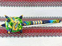 Булава козацька розписна сувенірна ( Булава сувенирная 40,5 см) - виріб з дерева, ручна робота