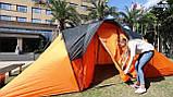 Палатка туристическая Четырехместная Bestway 68003 Traverse 480х210х165 см, фото 6