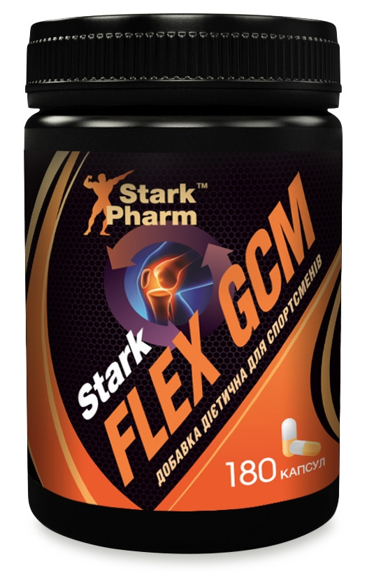 Здоровье суставов Stark Pharm - Flex GCM Glucosamine Chondroitin MSM (180 капсул)