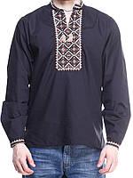 """Мужская сорочка вышиванка """"Ромб"""" ( В.О.В.), фото 1"""
