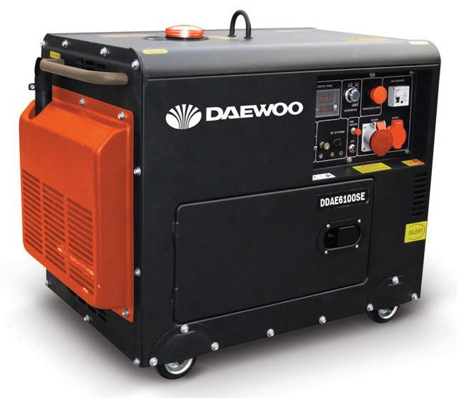 Генератор дизельный Daewoo DDAE 6100 SE-3 трехфазный