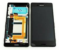 Дисплей Sony Xperia M4 Aqua E2303 / E2306 / E2312 / E2333 / E2363 complete with frame Black