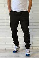 Мужские молодежные  штаны джогеры чрные розница, фото 1