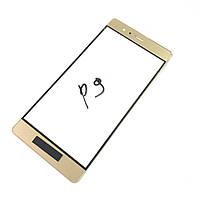 Стекло дисплея Huawei P9 (EVA-L09) / P9 Dual SIM (EVA-L19) Gold (для переклейки)