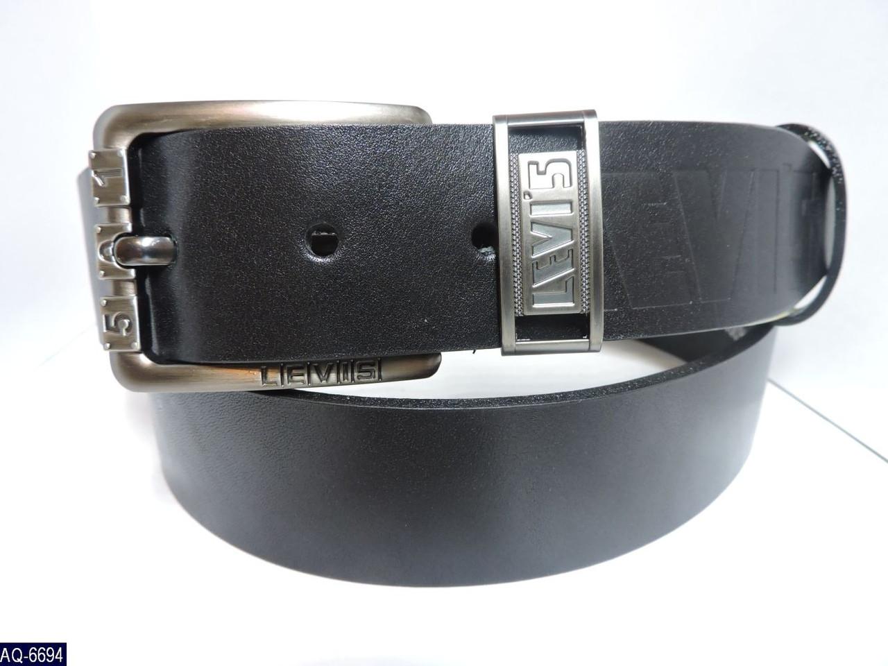 Ремень Levis кожа бренд Ширина -4 см длина 115-125