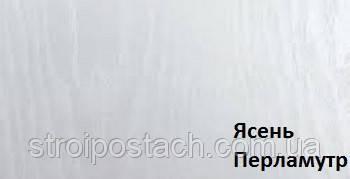 Наличник ПВХ прямой 70 мм ясень перламутр, шт
