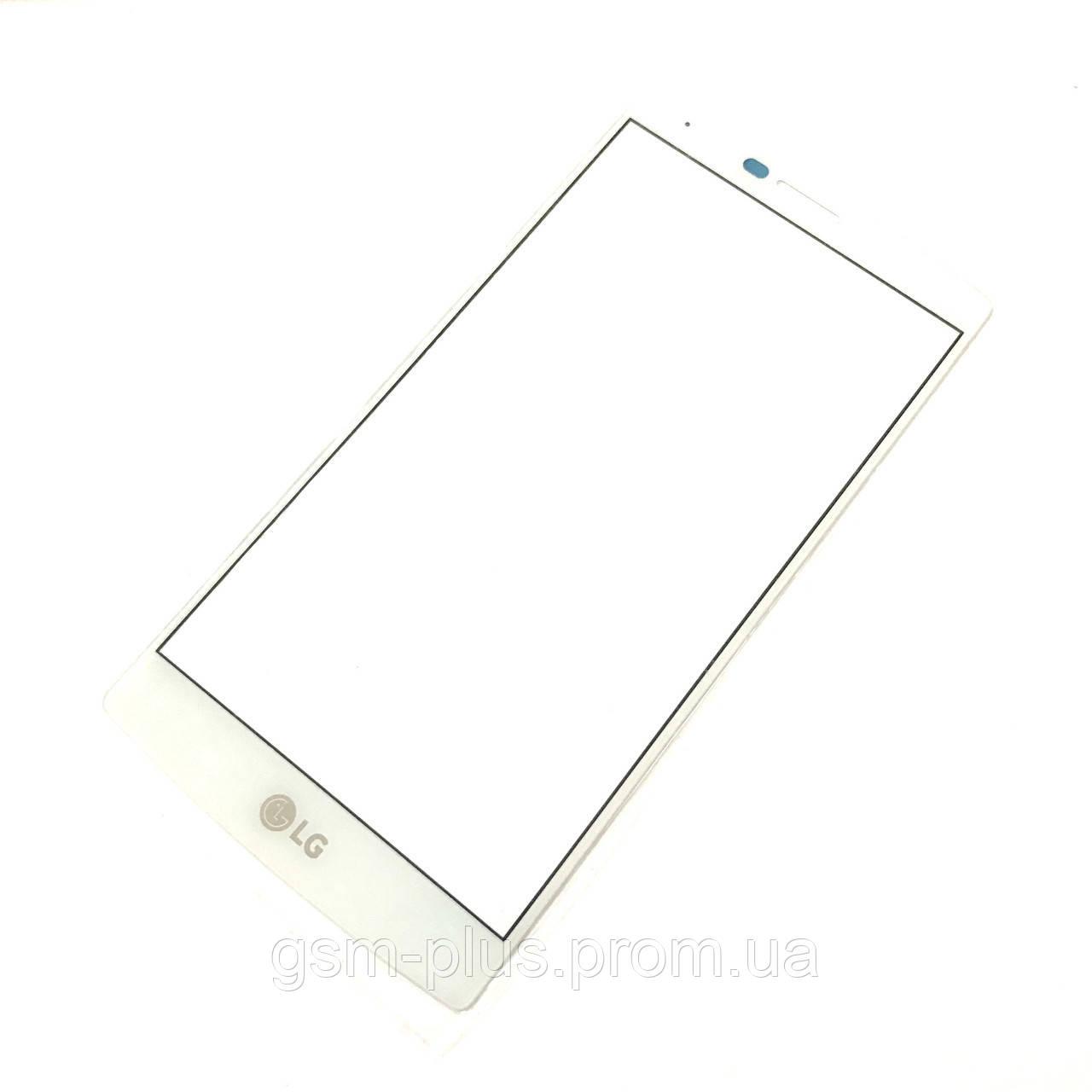 Стекло дисплея LG F500 G4 / H810 G4 / H811 G4 / H815 G4 / H818 G4 White (для переклейки)