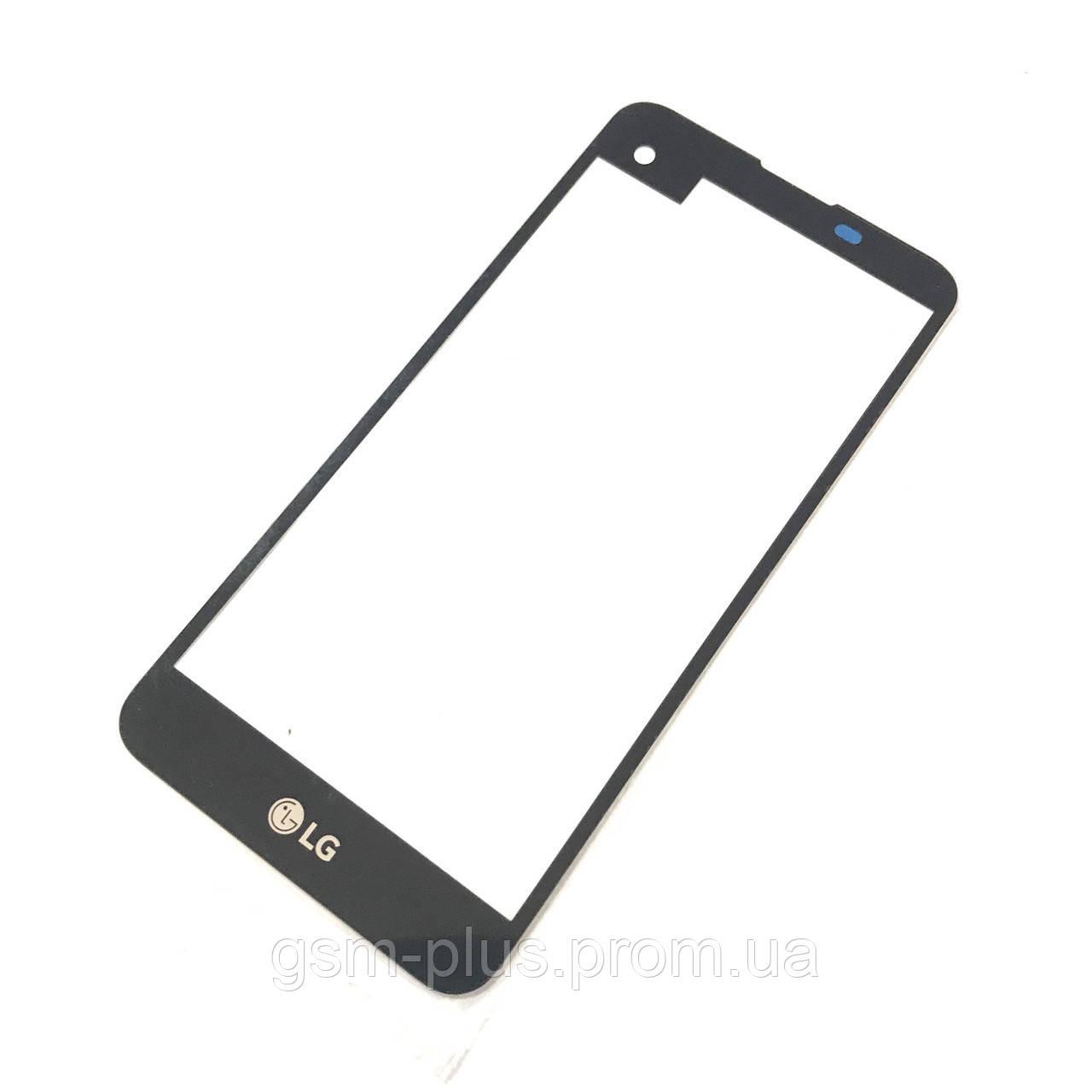Стекло дисплея LG K500n / K500DS / X Screen / X View Black (для переклейки)