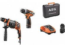 Набір інструменту AEG JP12B2Li-152C SET