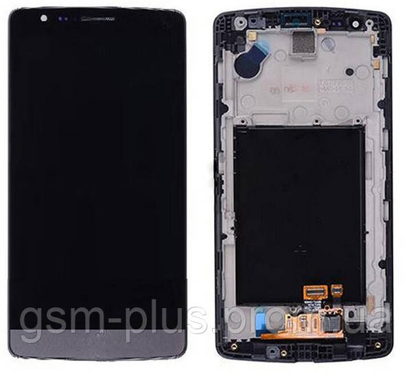 Дисплей LG G3S D722 / D723 / D724 / D725 complete with touch and frame Black