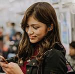 Беспроводные наушники блютуз Wi-pods S2 водонепроницаемые с зарядным чехлом Bluetooth 5.0. Белые, фото 9