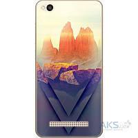 Чехол 1TOUCH Silicone Print Xiaomi Redmi 4A Sunlight Hill