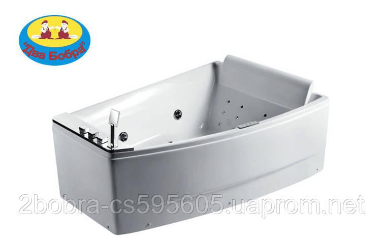 Ванна Прямоугольная с Гидромассажем Volle 170*120 см. R,L | 12-88-100 , фото 2