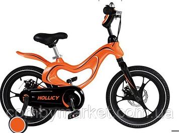 """Велосипед Hollicy 16"""" оранжевый"""