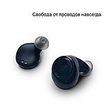 Wi-pods S7 Bluetooth наушники беспроводные водонепроницаемые с зарядным чехлом-кейсом. Металлик Оригинал, фото 5