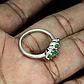 Изумруд, серебро 925, кольцо, 1502КЦИ, фото 3
