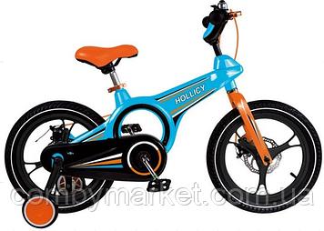 "Велосипед Hollicy 16"" голубой"